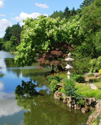 Parc oriental de maul vrier la magie d un jardin japonais for Le jardin oriental
