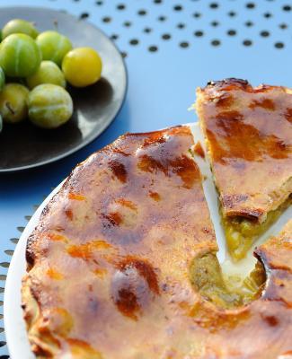 recette du p 226 t 233 aux prunes avec anjou tourisme