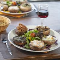 Recette Les galipettes ou champignons farcis