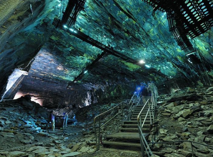 La Mine bleue