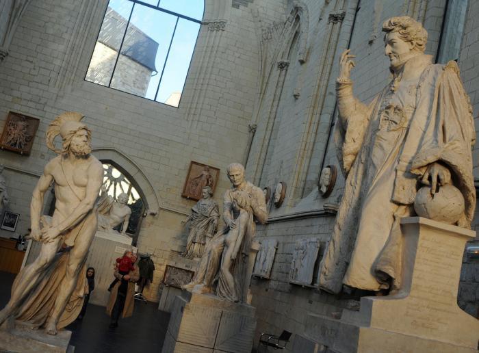 d'approcher le 19e à la Galerie David d'Angers
