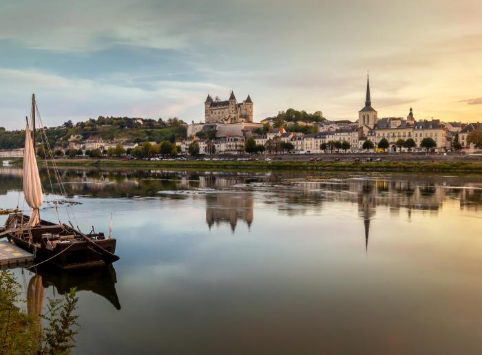 de visiter le château de Saumur