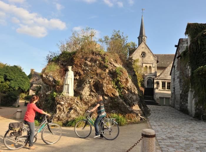 Béhuard, une île sur la Loire