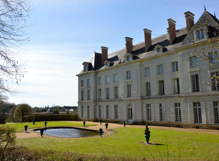 visiter le château de Montgeoffroy