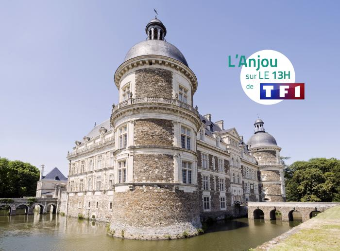 L'anjou à l'honneur dans le journal de TF1