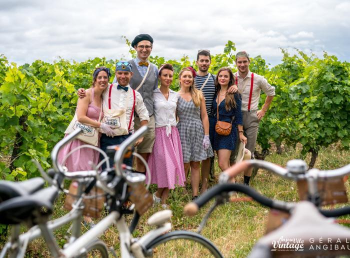 Elaborer sa tenue pour Anjou Vélo vintage