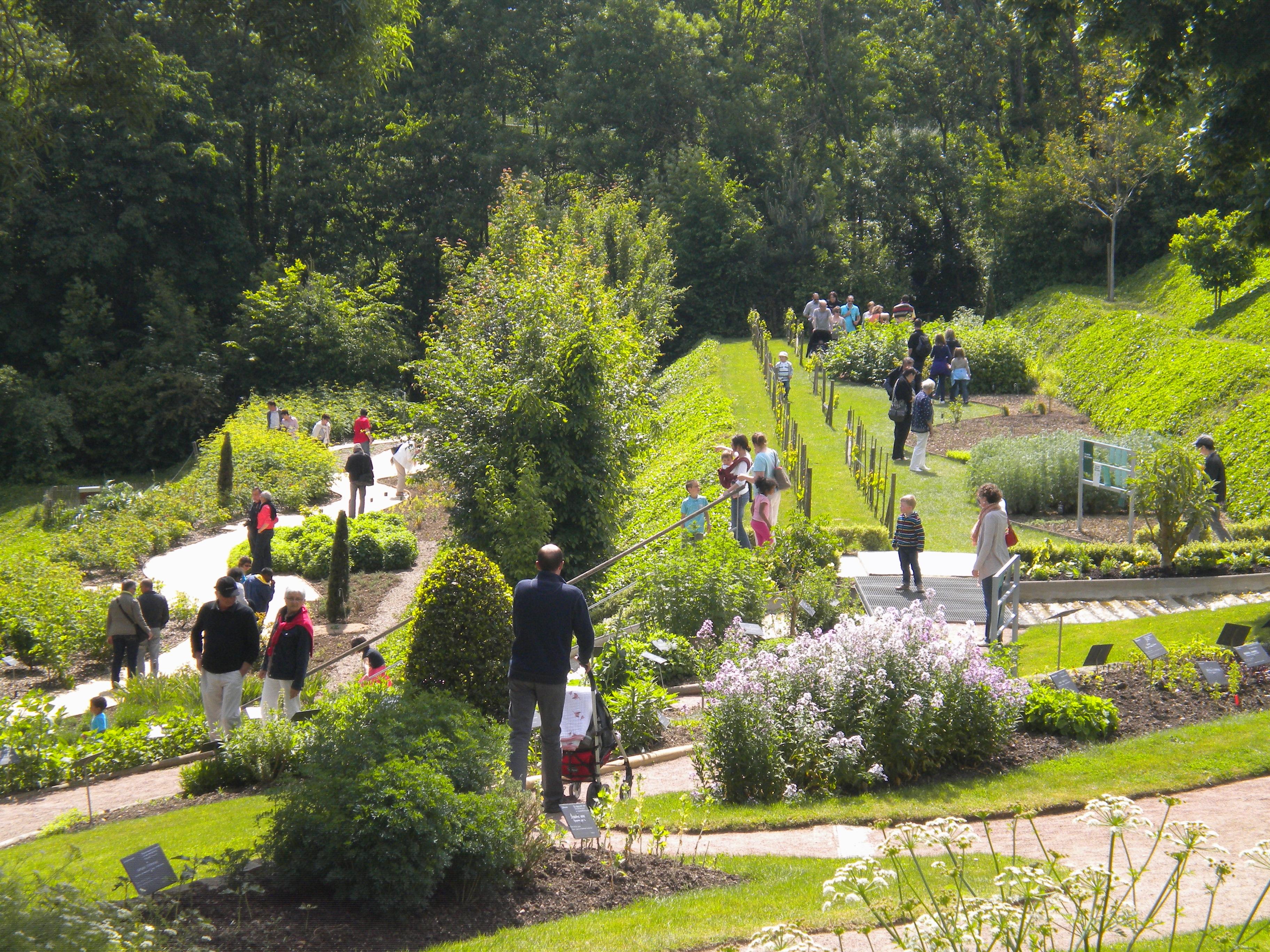 Parcs et jardins en Anjou – Maine et Loire