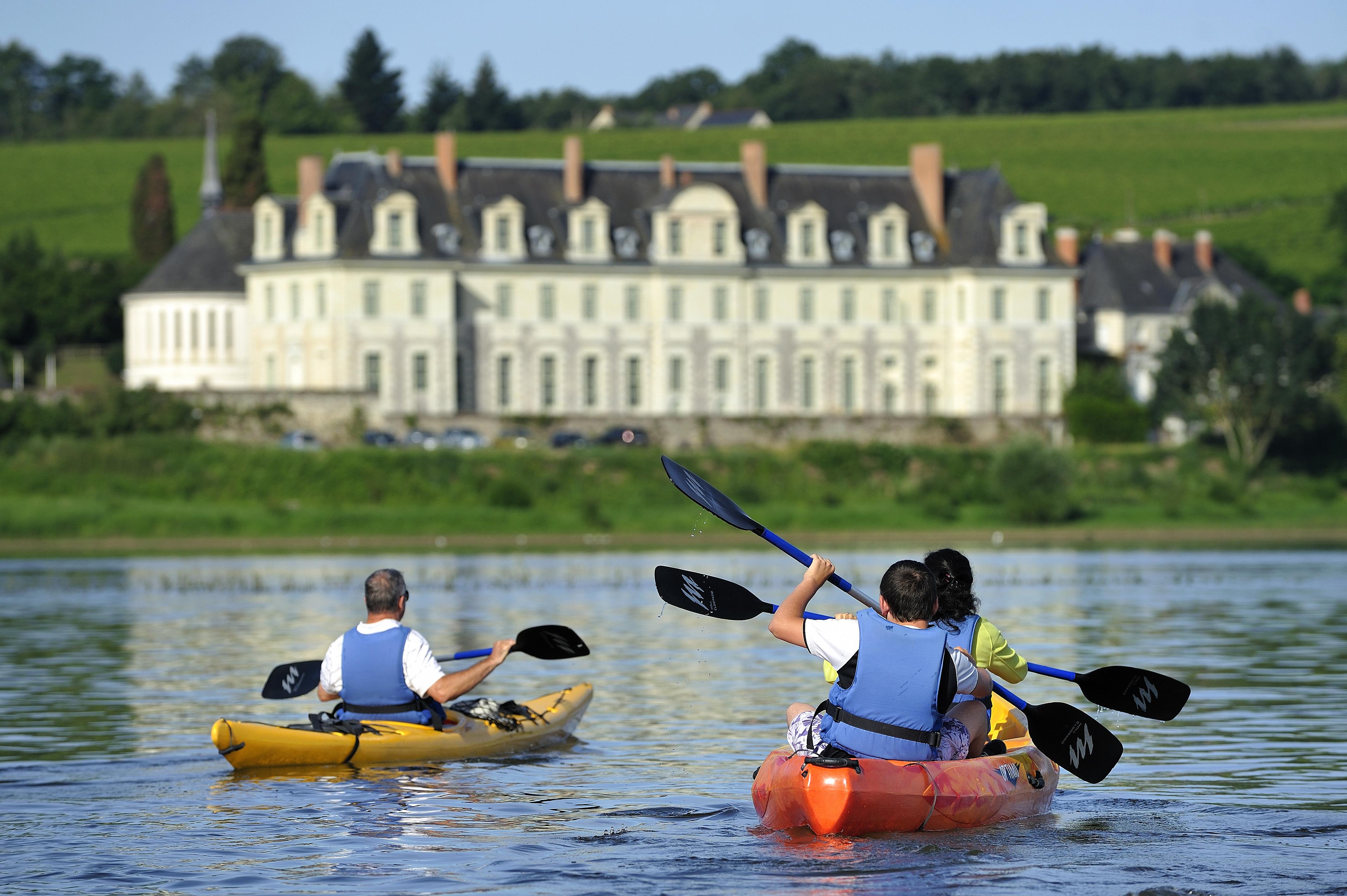 Carte Bleue Kayak.Randonnee Canoe Kayak En Maine Et Loire 49